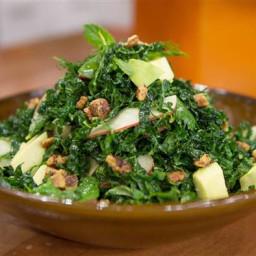 Kale and Avocado Salad with Yogurt-Dill Vinaigrette