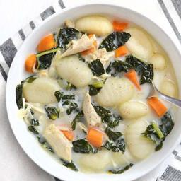 kale and gnocchi soup