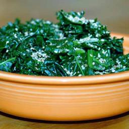 Kale with Gomasio
