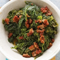 Kale with Sweet Sausage