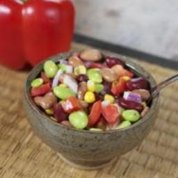 Kaleidoscope Bean Salad