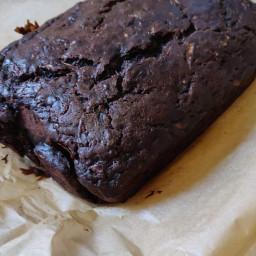 Kale's Chocolate Zuchini Bread