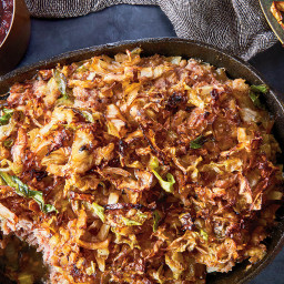 Kalpudding (Meatloaf With Caramelized Cabbage)