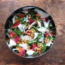 Kamut, Orange  and  Arugula Salad - pressure cooker recipe