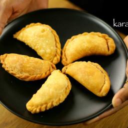 karanji recipe | gujiya recipe | karjikai recipe | kajjikayalu recipe