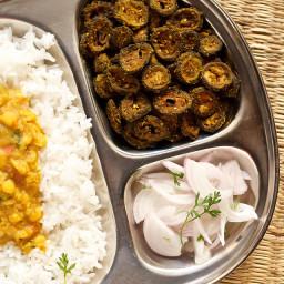 karela sabzi or karela stir fry recipe