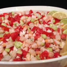 Karen's Seafood Ceviche (40- 1/4 cup servings)