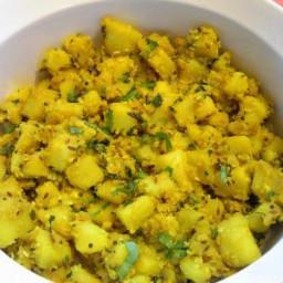Kassim's Potato Bhaji