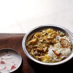 kathal biryani recipe | jackfruit biryani recipe