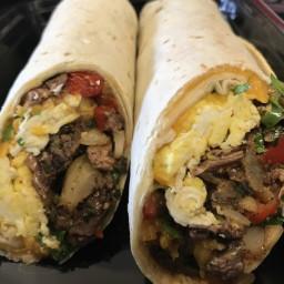 Kayle: Steak & Egg Breakfast Burrito