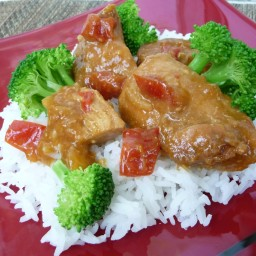 Sweet-n-Spicy Crockpot Chicken (GF, DF)