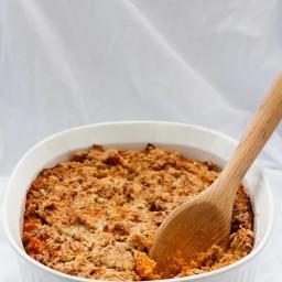 Kentucky Bourbon Sweet Potato Casserole