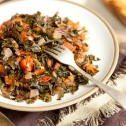 Kenyan-Style Kale and Tomatoes