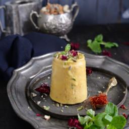 Kesar Mango Kulfi / Indian Saffron and Mango Ice Cream