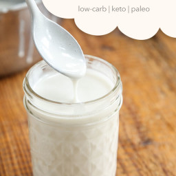 Keto and Paleo Condensed Milk