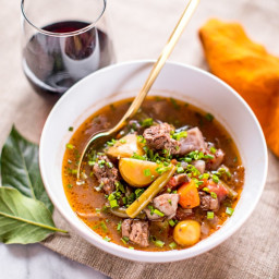 Keto Beef Stew in the Instant Pot