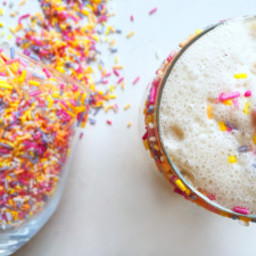 Keto Cake Batter Milkshake