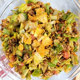 Keto Catalina Taco Salad