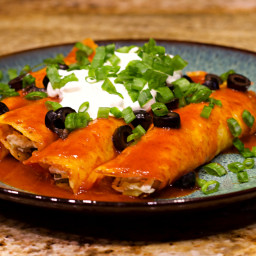 Keto Chicken Enchilada Recipe