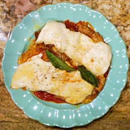 Keto Chicken Parmesan Recipe