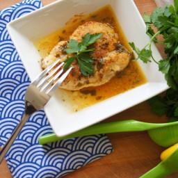 Keto Chicken Piccata