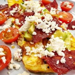 Keto Easy Breakfast Omelette