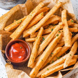 Keto French Fries ONLY 3 INGREDIENTS