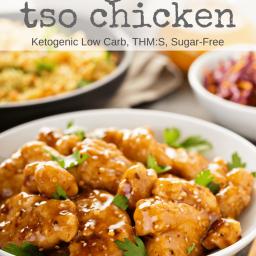 Keto General Tso's Chicken