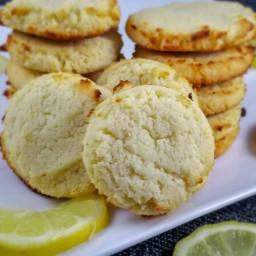Keto Lemon Ricotta Cookies
