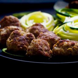 Keto Meatball Recipe with Ground Turkey, Garlic & Ginger