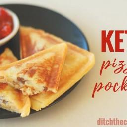 Keto Pizza Pockets