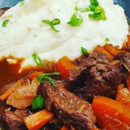 Keto Red Wine Beef Stew