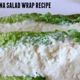 Keto Tuna Salad Wrap