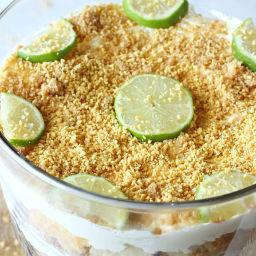 Key Lime Cheesecake Trifle