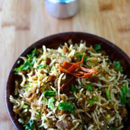 kheema pulao - how to prepare pulao with minced meat pulao