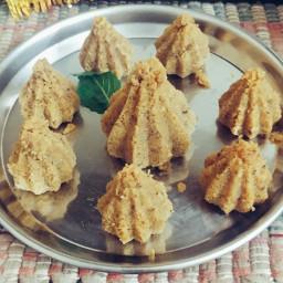 Khoya Modak (best from waste)