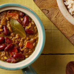 Kidney Bean and Lentil Dal