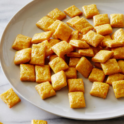 Kids Can Make: Healthy Cheesy Crackers
