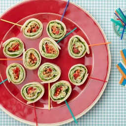 Kids Can Make: Roasted Turkey and Basil Cream Cheese Pinwheel Sandwiches