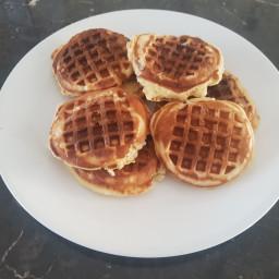 Kids favourite waffles