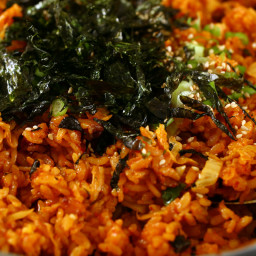 Kimchi-bokkeumbap