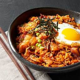 All-in-one: Kimchi Fried Rice