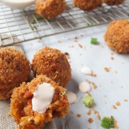 Kimchi Fried Rice Balls