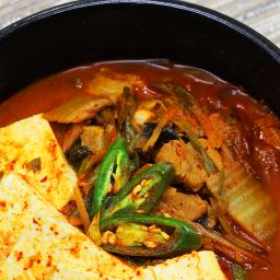 Kimchi Jjigae with Pork