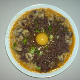 Kimchi Noodle Soup
