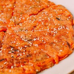 Kimchi Pancake (Kimchijeon)