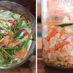 Kimuchi (Japanese Style Kimchi)