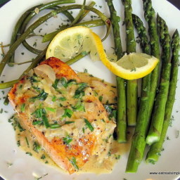 King Salmon with Fennel