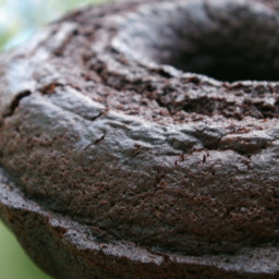 Kittencal's Moist One-Bowl Dark Chocolate Bundt Cake