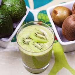 Kiwi Avocado Smoothie
